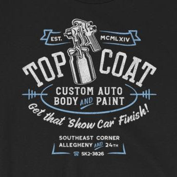 Vintage-Look Hot Rod Paint Shop Short-Sleeve Unisex T-Shirt