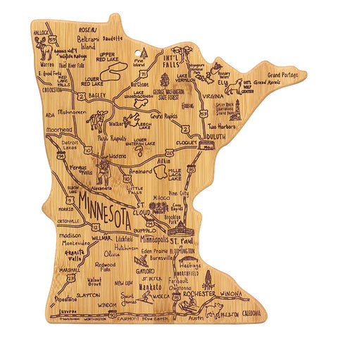 Minnesota Cutting Board/Wall Art
