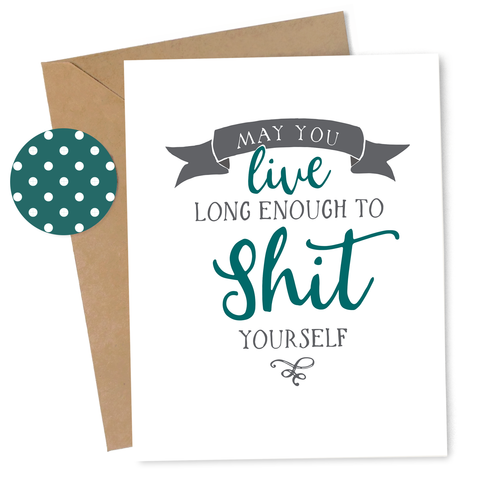 Shit Yourself Card