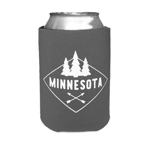 MN Diamond Koozie - Gray
