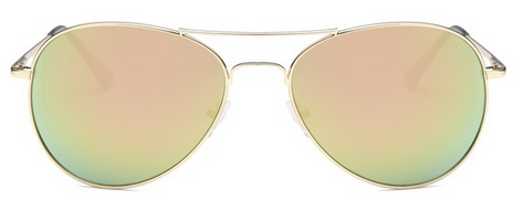 Sunglasses - Peach Aviator