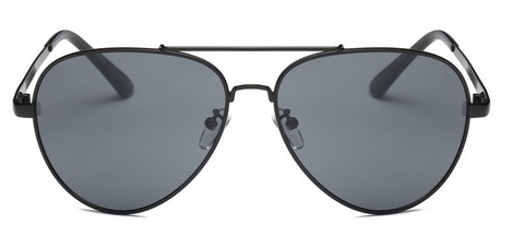 Sunglasses - Gunmetal Aviator