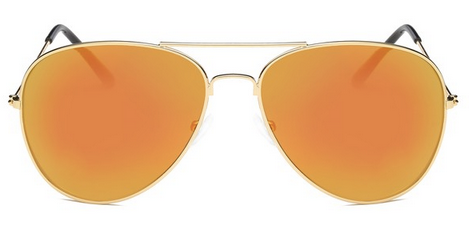 Sunglasses - Orange Aviator