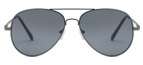 Sunglasses - Black Aviator