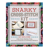 Snarky Cross-Stitch Kit