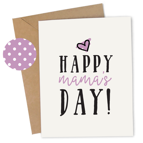 Happy Mama's Day Card