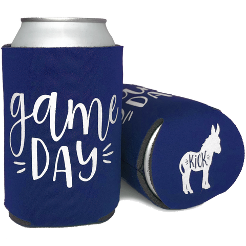 Game Day (Kick Ass) Koozie - Royal Blue