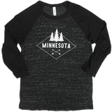 MN Diamond Raglan Tee