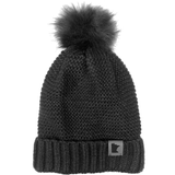 MN Sherpa-Lined Beanie - Charcoal
