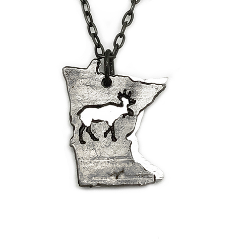 MN Moose Necklace