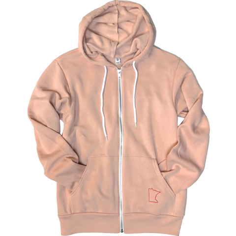 MN Zip-Up Sweatshirt