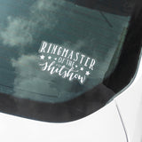 Ringmaster of the Shitshow Decal