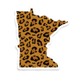 MN sticker - leopard