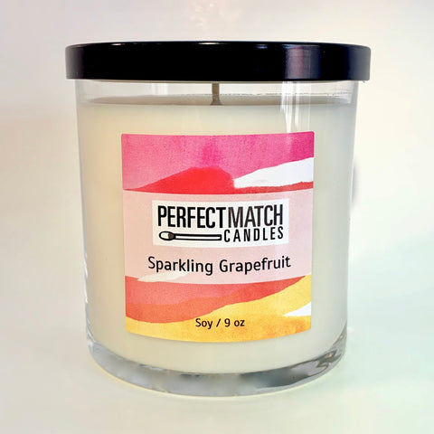 Sparkling Grapefruit Soy Candle