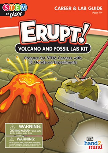 ERUPT! Volcano Science Kit with 15 Experiments (Ages 8+)