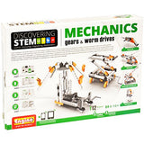 Engino Discovering STEM Mechanics Gears & Worm Drives Construction Kit