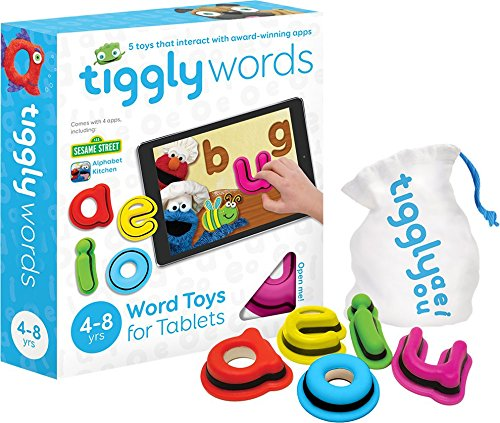 Tiggly Interactive Learning Toys with 4 Reading and Spelling Games included