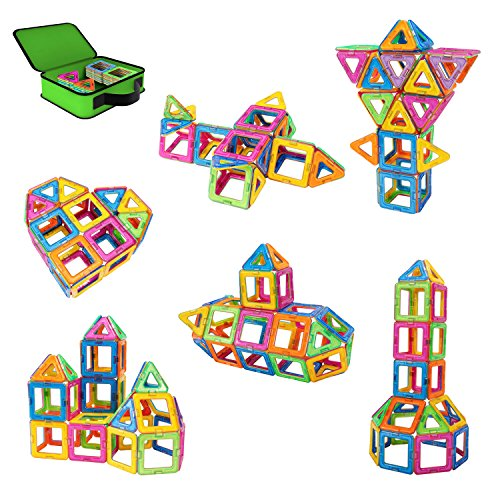 Magnetic Construction Building Tiles