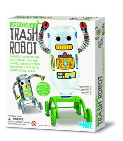 4M Trash Robot Kit