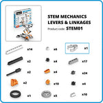 Engino Discovering STEM Mechanics Levers & Linkages Construction Kit