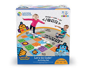 Learning Resources Let's Go Code! Activity Set, 50 Pieces