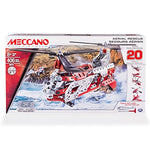 Meccano-Erector - 20 Model Building Kit - Aerial Rescue