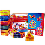 65 Piece Set Magnetic 3D Building Tiles with Storage Case