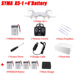 RC Quadcopter With 2MP HD Camera or without Camera