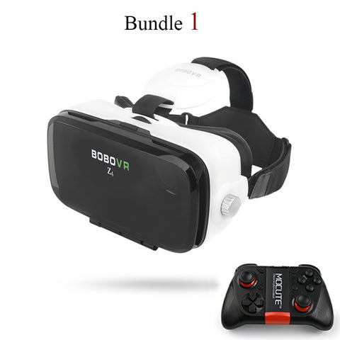 "BOBOVR Z4 Mini Virtual Reality Helmet VR Headset 3D Private Theater for 4.7""-6.2"" Smart Phone + Gamepad"