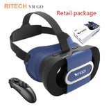 RITECH VR GO Portable Foldable 3D Virtual Reality Glasses
