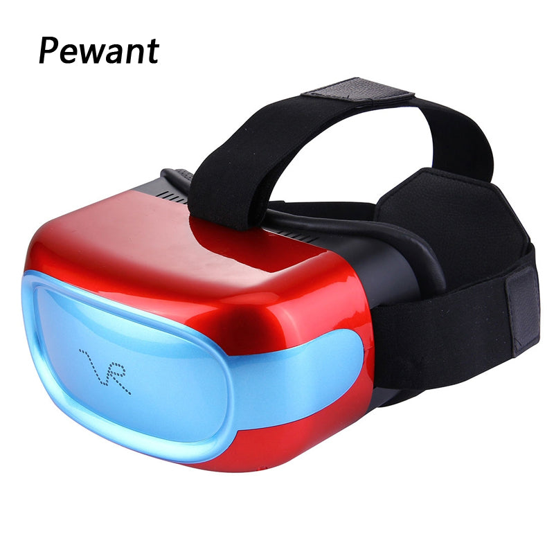 2017 New Arrival Pewant VR All In One Headset With Tablet PC CPU Quad Core DDR3 Anti Blue Laser