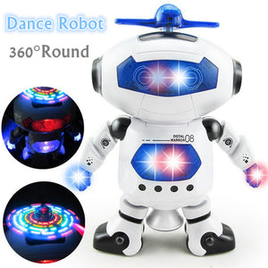 2017 New Smart Space Dance Robot With Music