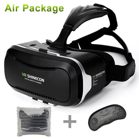 2017 VR Shinecon 2.0 Virtual Reality Headset + Bluetooth Controller