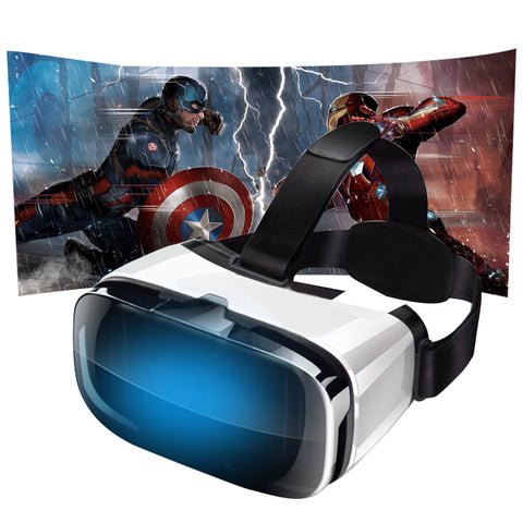"VR Box Virtual Reality Headset For Smartphone 4.5-6.3"" *360 Degree Experience"