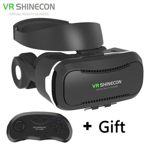 Shinecon 4.0 Virtual Reality with Bluetooth Headset For 4.5-6.0 Inch Smartphones