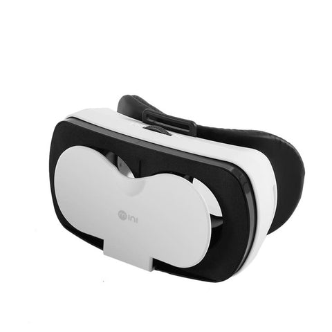 "VR-HERE Mini Smartphone 3D Virtual Reality Glass Headset VR Glasses Helmet vrbox Head Mount for 4.7""-6.0"" Smartphone +Head Strap"