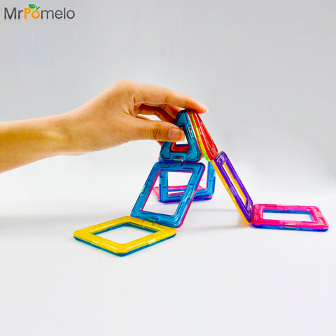 Mr Pomelo's Magnetic Blocks Set