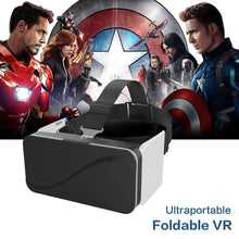 "VR Box 3D Foldable Virtual Reality Goggles Ultra-portable Headset Googles VR Glasses for Smartphones 4.7-6.0""Immersive 3D Game"