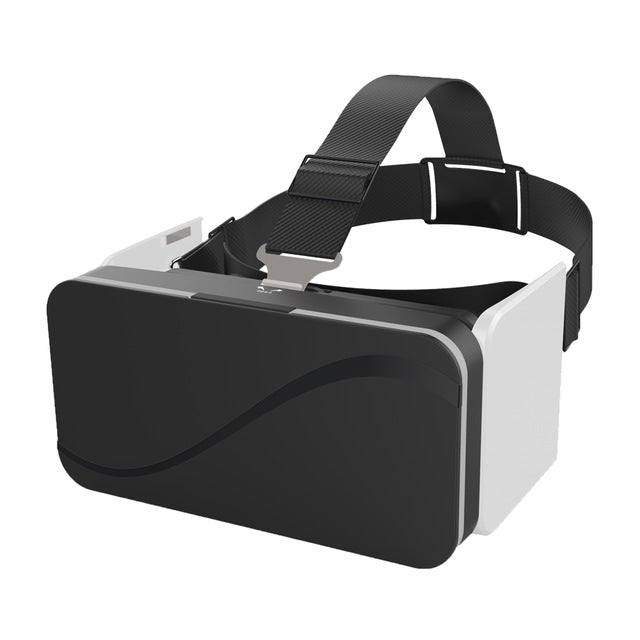 VR Box 3D Foldable Virtual Reality Goggles Ultra-portable Headset Googles VR Glasses for Smartphones 4.7-6.0