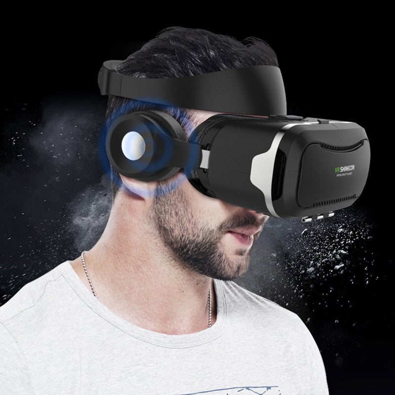 2017 NEW Shinecon VR Pro Headset with Headphone