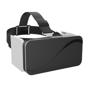 "VR Box 3D Headset Virtual Reality Goggles Foldable VR Glasses For Smartphones 4.7-6.0"" Googles Cardboard Helmet 3D Video Games"