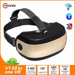 Virtual Reality 3D all in one bluetooth capable 1080P headset
