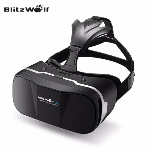 BlitzWolf Original BW-VR3 3D VR Glasses Box Virtual Reality Headset HeadMount For 3.5-6.3 inch Smartphone For iPhone For Samsung