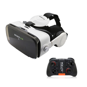 BOBOVR Z4 Virtual Reality 3D Glasses Helmet Google Cardboard VR BOX 2.0 with Headset earphone movie Bluetooth Controller