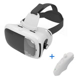 VR BOX Virtual Reality Goggles/Glasses 3D Headset VR Box 2.0 Google Cardboard 3D Glasses For Smartphone With Wireless Controller