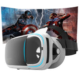 VR 3D Headset VR Virtual Reality Glasses VR Box 2.0 Google Cardboard VR 3D Goggles Helmet For 3.5-6.0 inch Smartphone video game
