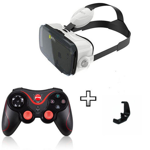Newest  BOBOVR Z4 mini Virtual Reality VR With Headset BOBO VR For 4.7-6.0 inch Smartphone+Multi-Function Game Gampad jostick