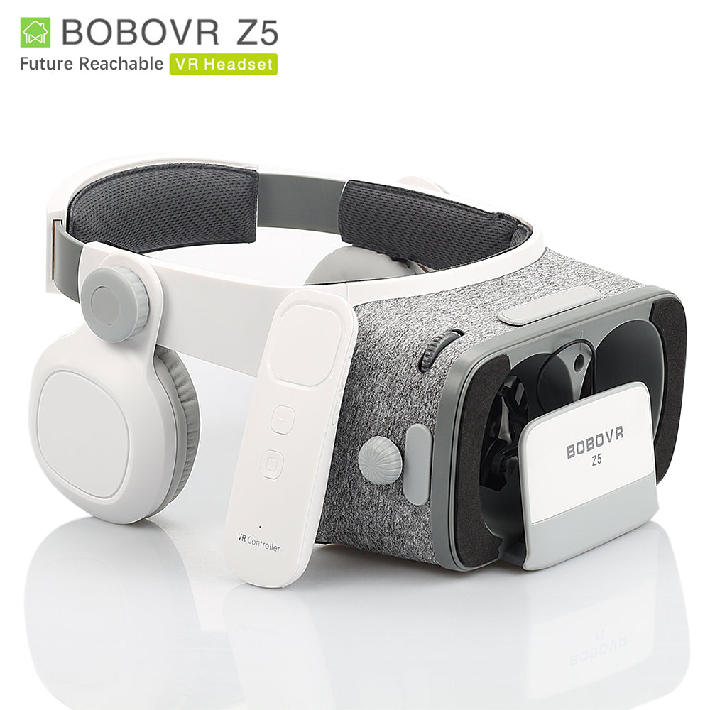 BOBOVR Z5 3D Glasses VR BOX Virtual Reality goggles glasses google Cardboard bobo vr headset For 4.7-6.2 inch smartphone