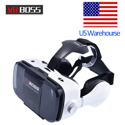 VR BOSS Z5 Virtual Reality Headset With Microphone