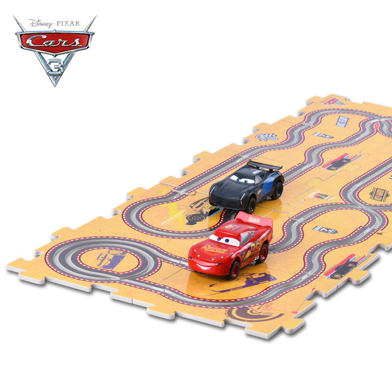 New! Electric Slot Cars with DIY Tracks